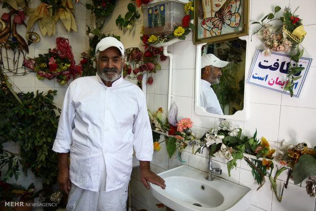 «عمو برات» خوش سلیقهترین کارگر دنیا