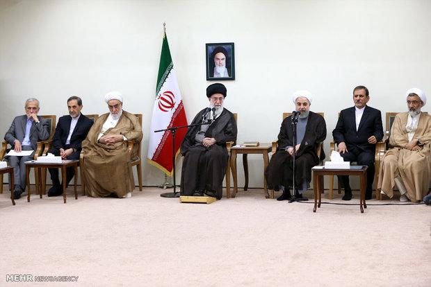 İnkılap Rehberi hükümet üyelerini kabul ettiler