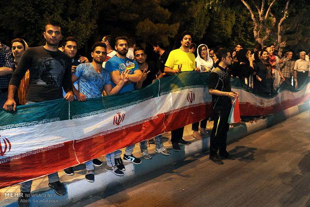 Iran celebrates nuclear achievement/Isfahan