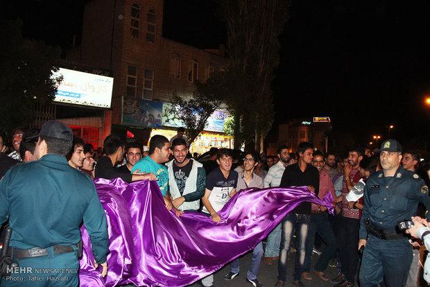 Iran celebrates nuclear achievement/Ardebil