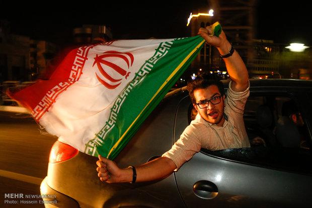 Iran celebrates nuclear achievement/Tehran
