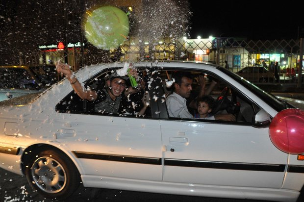 Iran celebrates nuclear achievement/Zahedan