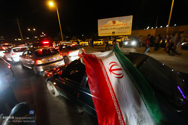 Iran celebrates nuclear achievement/Birjand