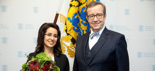 Estonia names Iranian as best Geneticist