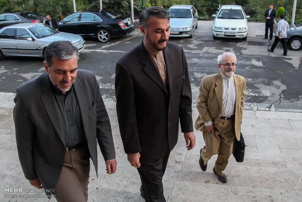 ضیافت افطاری وزیرامورخارجه وسفرای کشورهای اسلامی