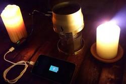 موبائل فونز موم بتیوں سے چارج کئے جاسکتے ہیں