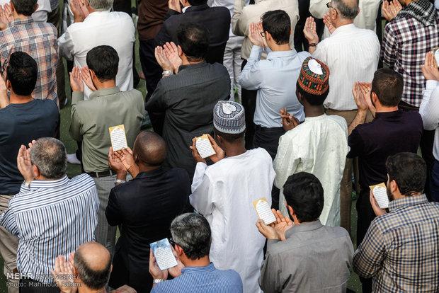 Eid al-Fitr Prayers led by Ayat. Khamenei in Tehran