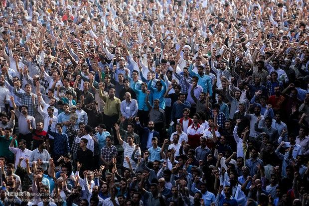 اقامه نماز عید سعید فطر به امامت رهبر معظم انقلاب