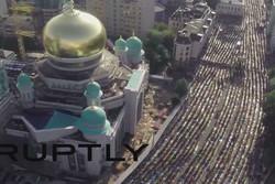 نماز عید فطر در مسکو