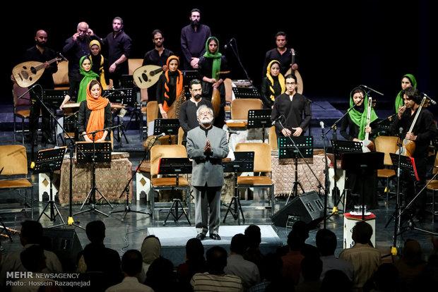 کنسرت ارکستر سازهای ملی