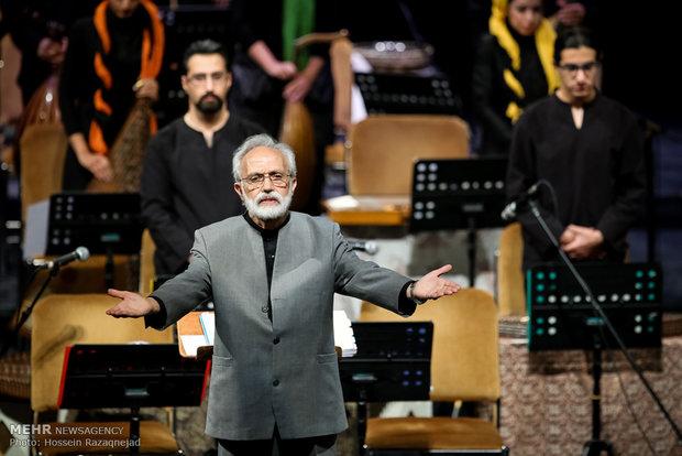 ارکستر سازهای ملی ایران به یاد حسین دهلوی نواخت