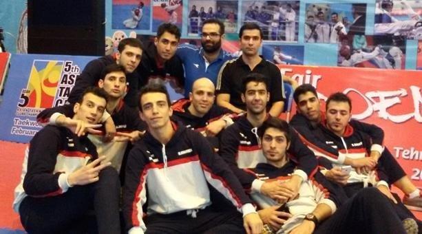 تیم تکواندوی شهرداری ورامین
