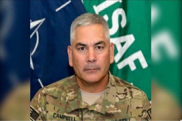 گزارش فرمانده ناتو در افغانستان از حضور داعش