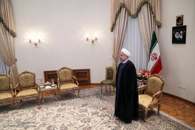 دیدار معاون صدر اعظم آلمان با رئیس جمهور