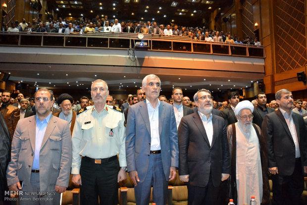 سفر عبدالرضا رحمانی فضلی وزیر کشور به شیراز