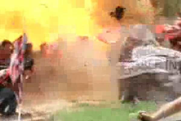 فیلم/لحظه انفجار شهر سوروچ ترکیه