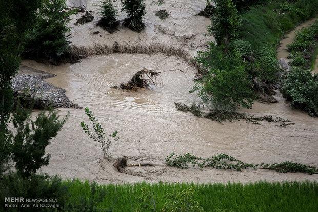 Chahardangeh after flood