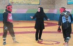 مسابقات کونگفو و هنرهای رزمی بانوان استان مرکزی در اراک برگزارشد