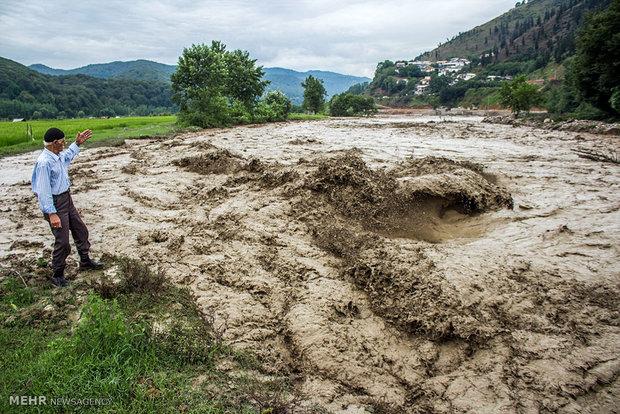 خسارت سیلاب در سوادکوه
