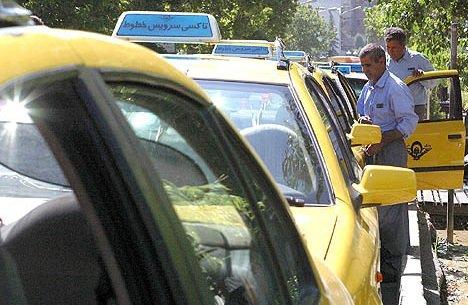 فرسودگی ۴۰درصد تاکسیهای ساوه را زمین گیر کرد