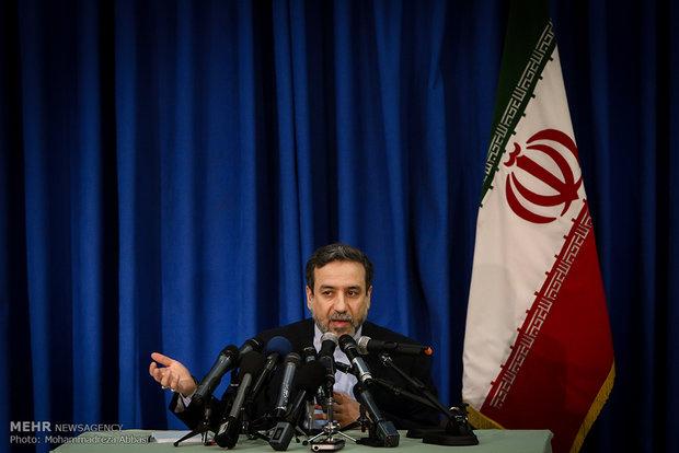 عراقجي : اللجنة المشتركة توافق على خطة ايران لازالة الرواسب في منشأة نطنز