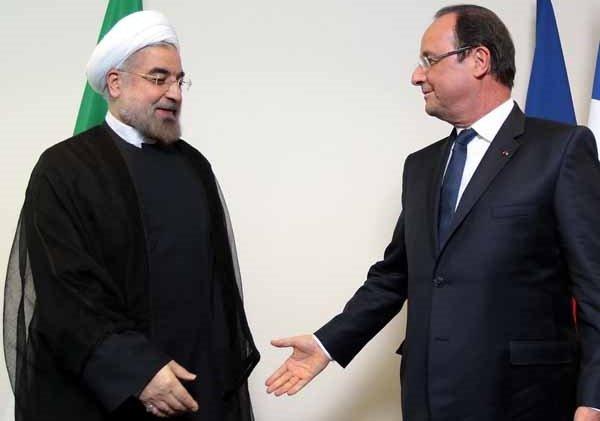 روحاني : حان الوقت لتطوير العلاقات بين طهران وباريس