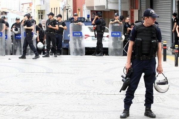 دستگیری ۲۵۱ نفر در ترکیه به اتهام ارتباط با گروه های تروریستی