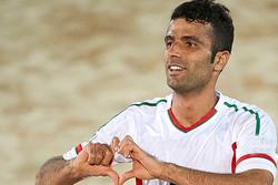 احمدزاده کاندیدای بهترین بازیکن فوتبال ساحلی جهان شد