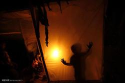 غزہ میں تاریکی اور خاموشی