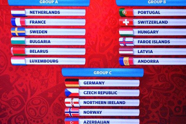 قرعه کشی مرحله مقدماتی جام جهانی 2018