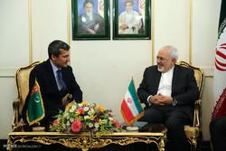 Iran, Turkmenistan FMs meet