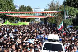 زيارة رئيس الجمهورية الاسلامية الايرانية لمحافظة كردستان