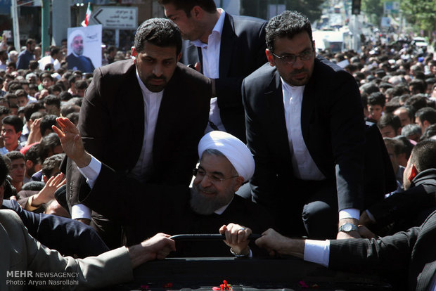 زيارة رئيس الجمهورية حسن روحاني لمحافظة كردستان