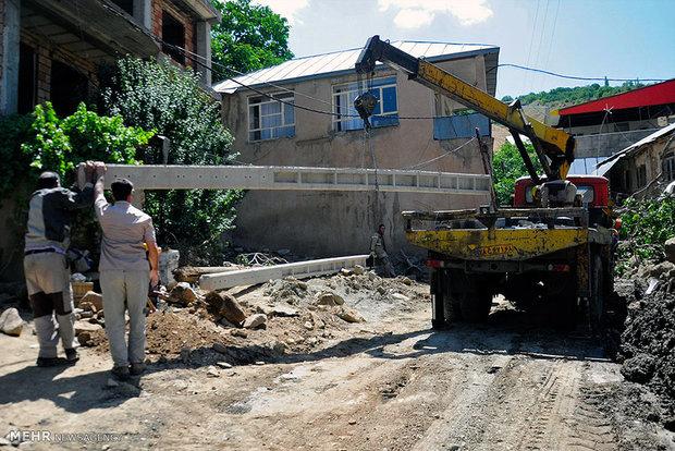 Flood-stricken Sijan; two weeks later