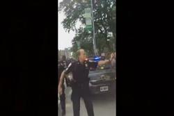 پلیس آمریکا و گاز فلفل