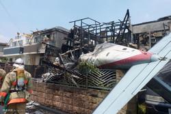 تحطم طائرة سياحية فوق منطقة سكنية فى طوكيو