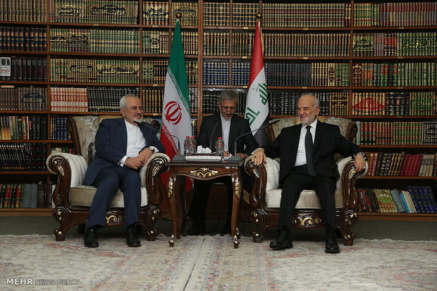 دیدار وزرای خارجه ایران وعراق