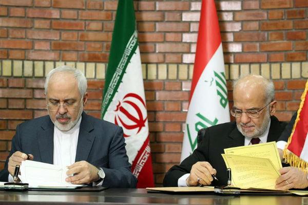 لقاء وزيري خارجية ايران والعراق