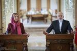 کنفرانس مطبوعاتی محمد جواد ظریف و فدریکا موگرینی