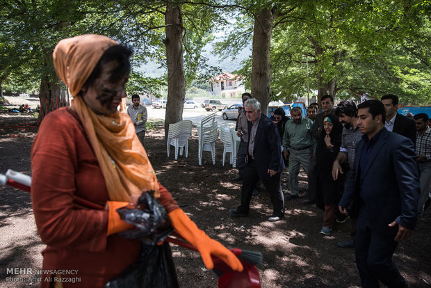 سفر رئیس سازمان محیط زیست به مازندران