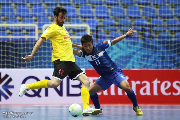 دیدار تیمهای فوتسال تایسونام ویتنام و شِنزن چین