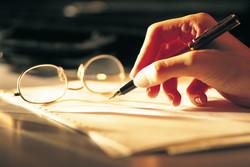 طرح ادبیات قلم نوشتن