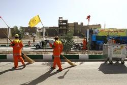 ۲ هزار نیروی انسانی خدمات شهری در مرزهای ایران خدمترسانی میکنند