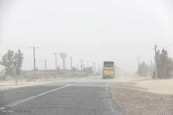 توفان شدید شن در سیستان آغاز شد/غلظت گرد و خاک دو برابر حد مجاز