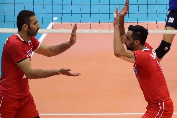 Iranian v-ballers push on 2nd round Asian games