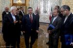 دیدار وزرای امورخارجه ایران و صربستان