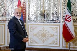 دیدار ایوتسا داچیچ وزیر امور خارجه صربستان با محمدجواد ظریف وزیر امور خارجه ایران