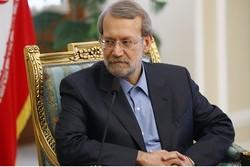لاريجاني: الجهود التي بذلها المنتخب الايراني من دواعي الفخر والكبرياء لدى الشعب