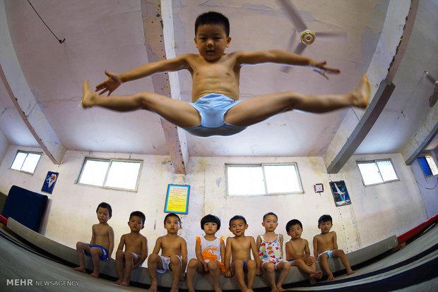 کمپ آموزش ژیمناستیک در چین