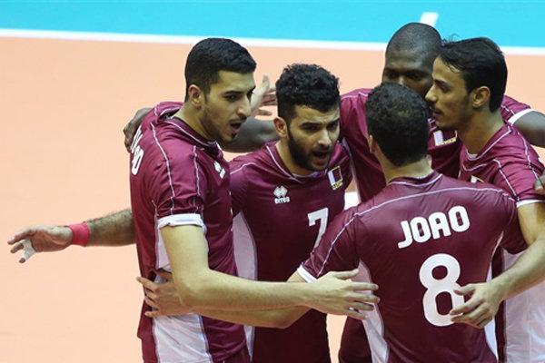 تیم ملی والیبال قطر